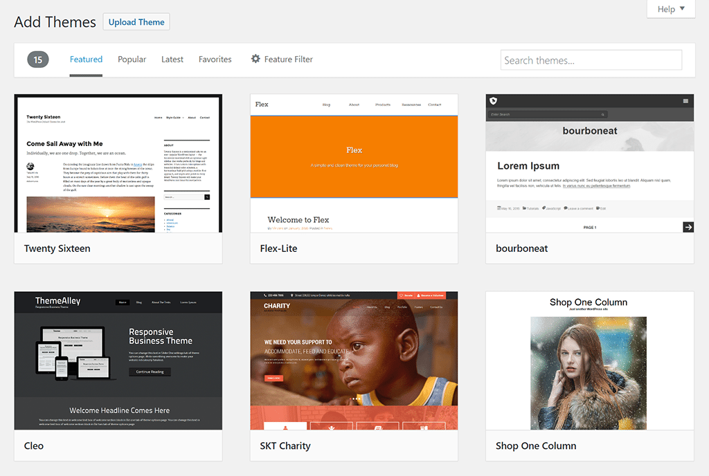 WordPress Trusted Themes and Plugins