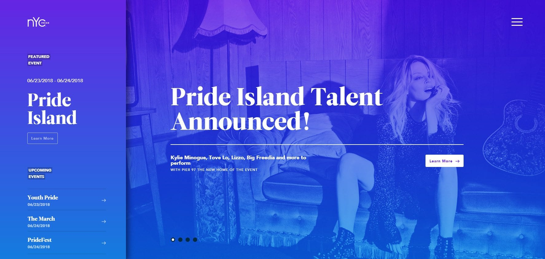 Pride Gradient image website