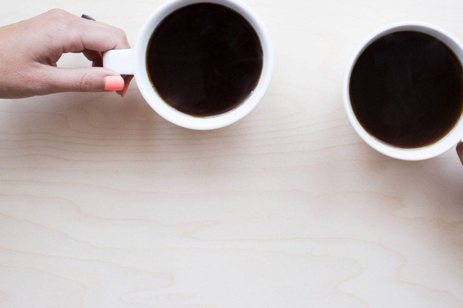 Chat over coffee - create personal connections