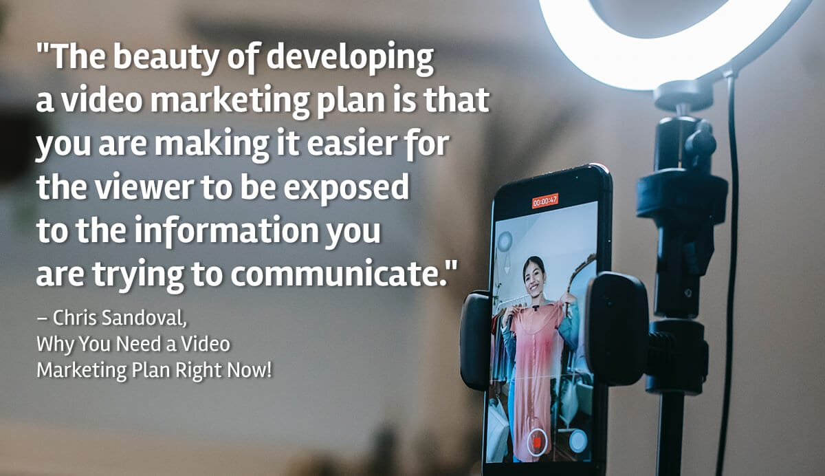 Video Marketing Quote
