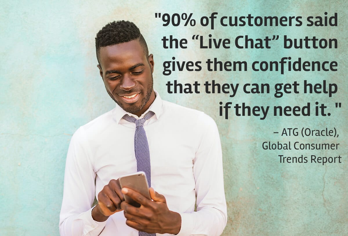 How live chat can drive sales